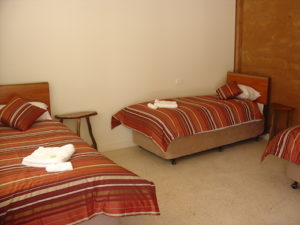 Redgum Retreat Bedroom Three Bed Accommodation
