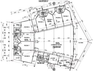 Redgum Retreat Dwellingup Building Layout