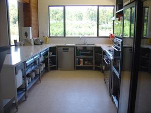 Redgum Retreat Kitchen Area