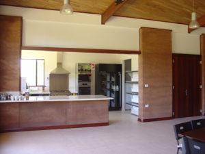 Redgum Retreat Kitchen Living Area