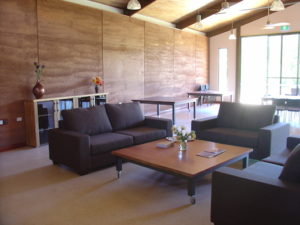 Redgum Retreat Lounge and Living Area